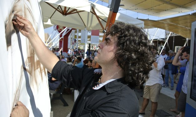 A Bulgarian artist at Milan Expo 2015